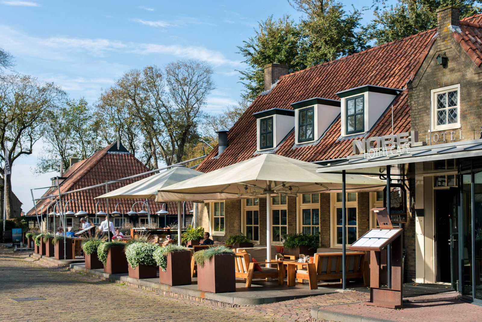 Terras hotel Nobel Ameland